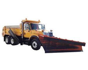 International 7400 Plow / Spreader Truck