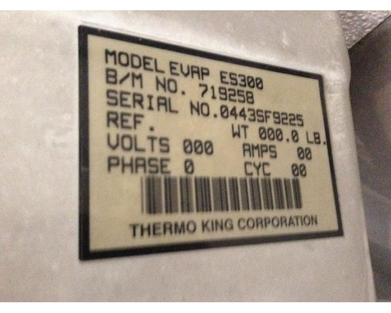 Thermo king Reefer unit Code 63 genders