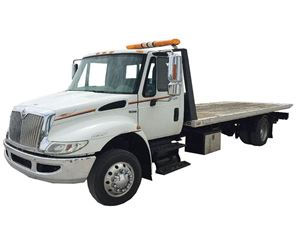 International 4300 Roll Back Truck