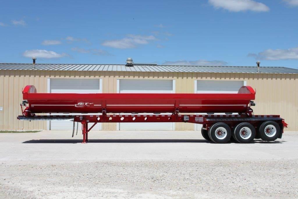 Semi Dump Trailers >> 2020 Jet Triple Axle W Liftable 3rd Axle Side Dump Semi
