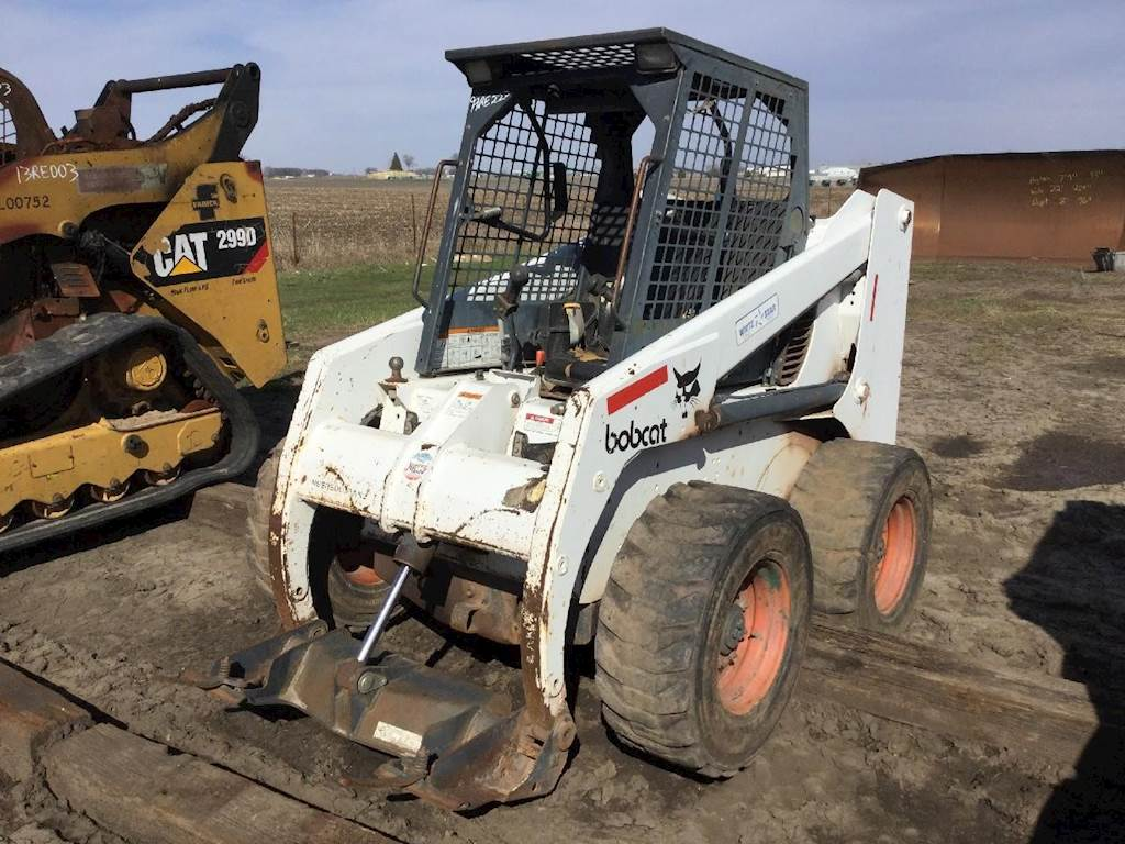 1999 Bobcat 863 Skid Steer For Sale Spencer Ia 99re222