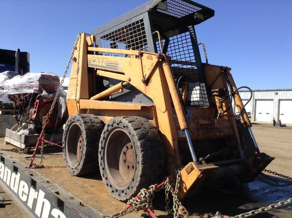 2001 CASE 1845C Skid Steer Loader Being Dismantled | Sanborn