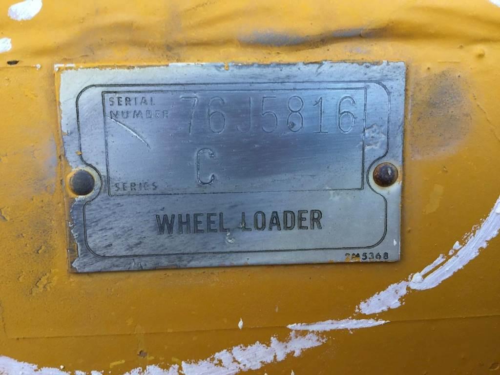 1968 Caterpillar 966C Wheel Loader Being Dismantled