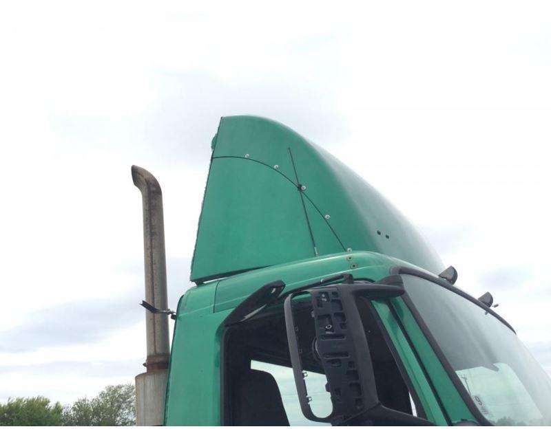 Tractor Trailer Wind Deflectors : Volvo vnl wind deflector for sale des moines ia