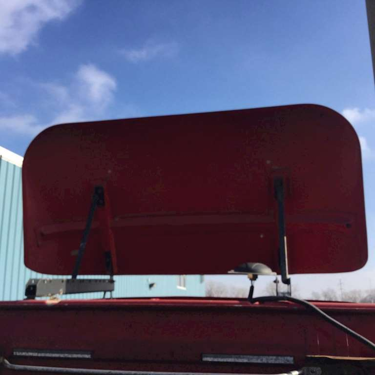 Tractor Trailer Wind Deflectors : Volvo vnl wind deflector for sale kansas city mo