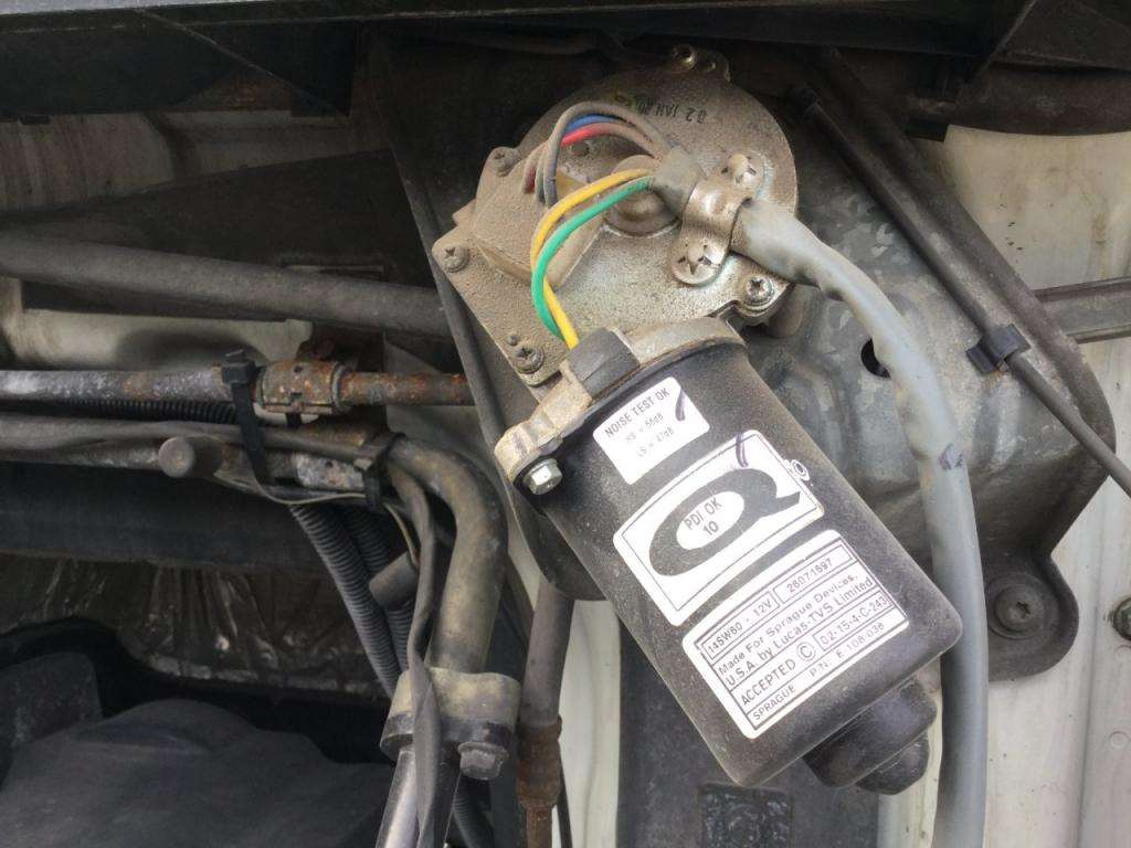 2008 Volvo VNM Windshield Wiper Motor