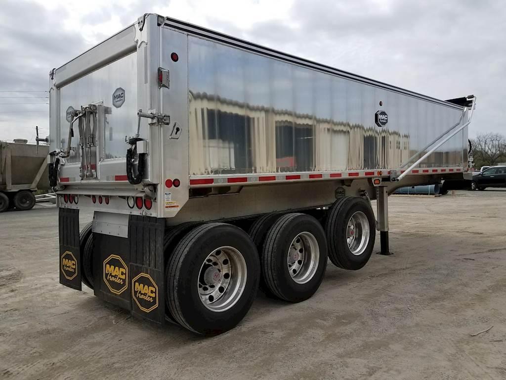 2020 Mac Trailer 28 Tri Axle End Dump Trailer For Sale