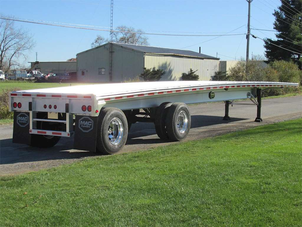 Spread Axle Trailer Weights : Mac spread axle flatbed trailer for sale
