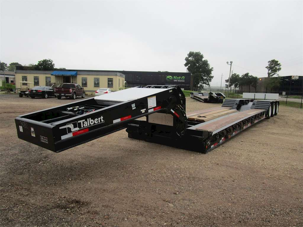 2015 Talbert Lowboy Trailer For Sale Houston Tx 12173