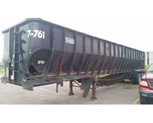 AULICK IND 4270 With Electric Valve Belt Trailer