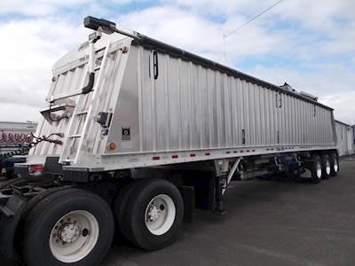 2016 Trail King 45x102 Aluminum Conveyor Grain Hopper Trailer