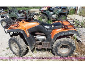 2002 Honda TRX350TM2 ATV