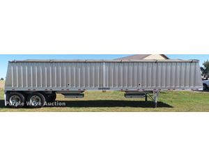 2011 Travalong double hopper grain trailer