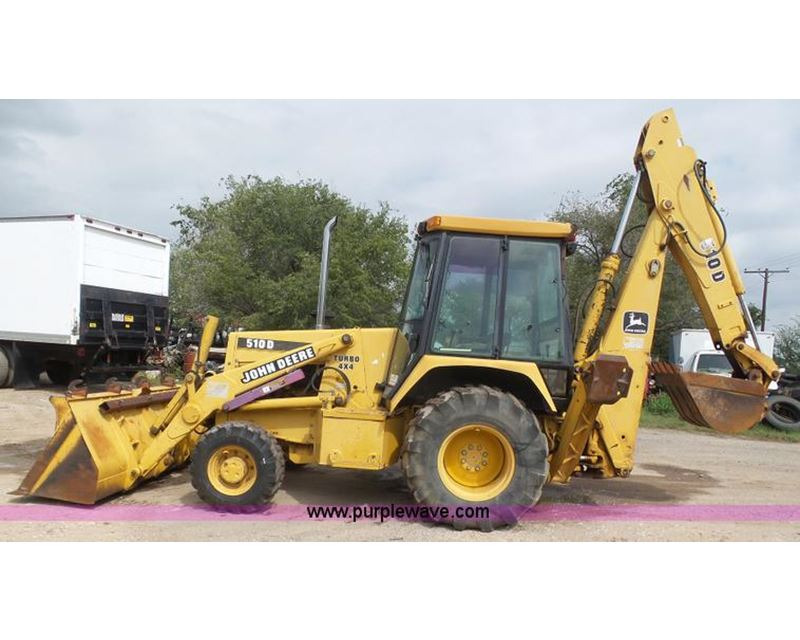 1995 John Deere 510d Backhoe For Sale