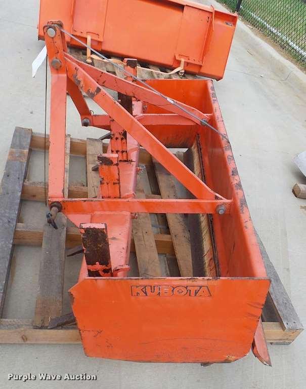 Kubota Box Blade : Kubota bl box scraper for sale grapevine tx