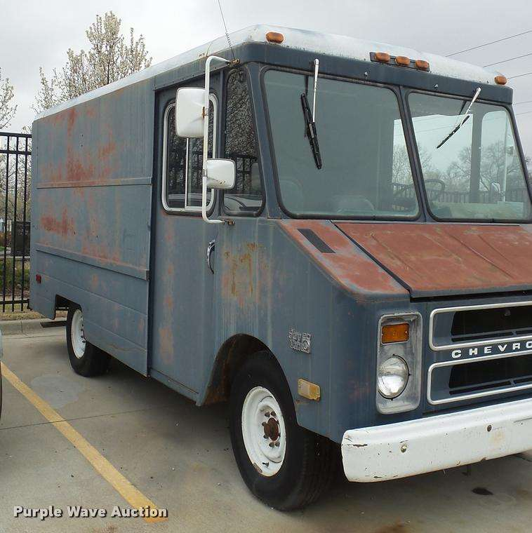 1984 Chevrolet Step Van 20 Delivery Truck For Sale 26 765