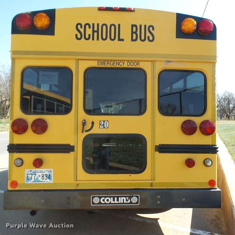 1999 Chevrolet Express 3500 Cargo School Bus For Sale