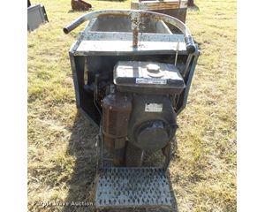 Concrete dump cart