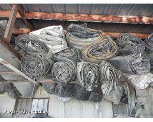 Approximately 20 concrete blankets