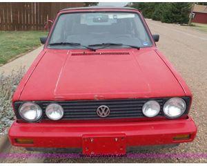 1989 Volkswagen Cabriolet convertible