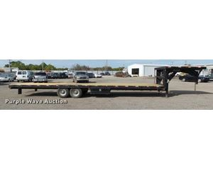 2006 Prostar drop deck trailer