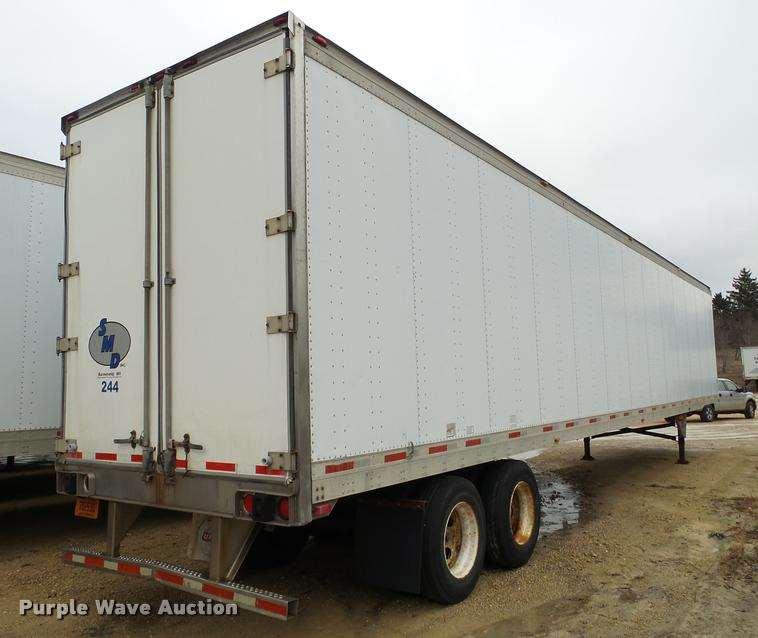 1999 Utility Trailers dry van trailer For Sale   Barneveld ...