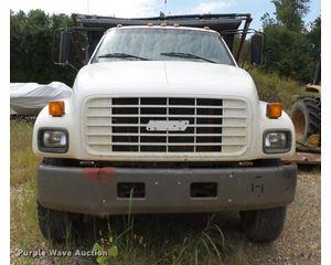 2001 GMC C7500 dump truck