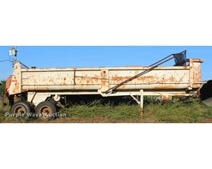 1984 Cherokee end dump trailer