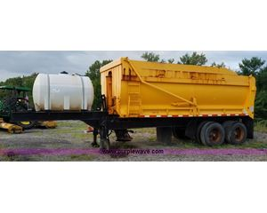 2006 Wheeler PL2021HW end dump trailer