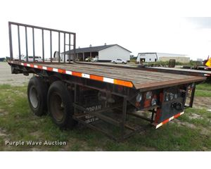 1986 Brooks Brothers equipment trailer