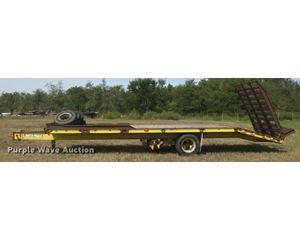 1992 Jantz-femco equipment trailer
