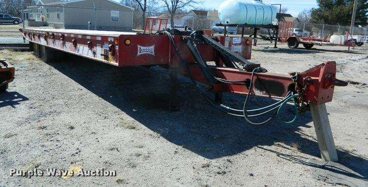 2004 Landoll 345C equipment trailer For Sale | Norton, KS | K2736 | MyLittleSalesman.com