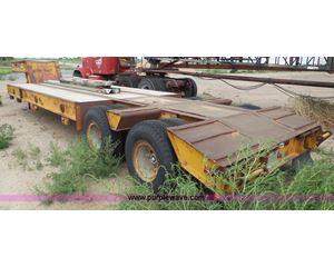 1983 Transport Trailers equipment trailer