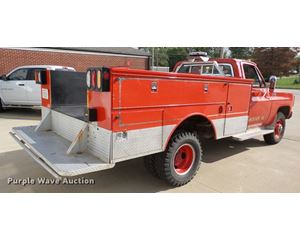 1979 GMC Sierra 35 fire truck