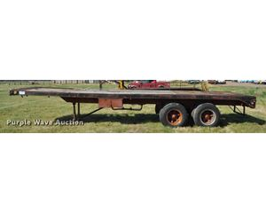 1965 Timpte MT10 flatbed trailer