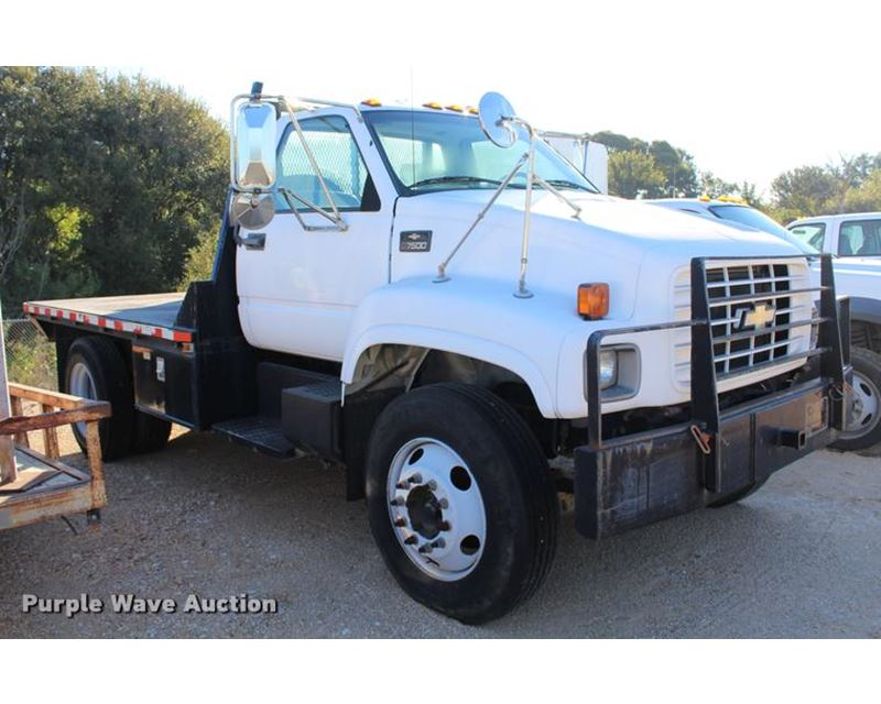 2002 chevrolet 6500 flatbed truck for sale austin tx. Black Bedroom Furniture Sets. Home Design Ideas