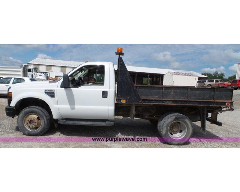 2008 ford f350 super duty xl flatbed truck for sale manhattan ks. Black Bedroom Furniture Sets. Home Design Ideas