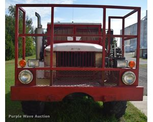 1968 Kaiser Jeep M35 flatbed truck