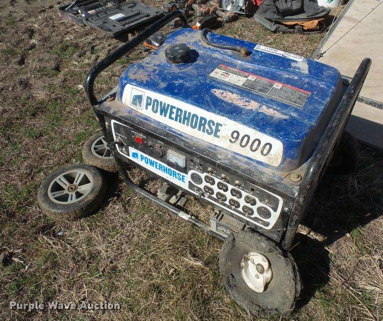 Power House 9000 Generator For Sale Rushville Mo