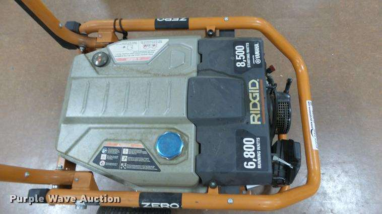 Ridgid smart generator for sale manhattan ks dj9349 for Ridgid 6800 watt generator with yamaha engine