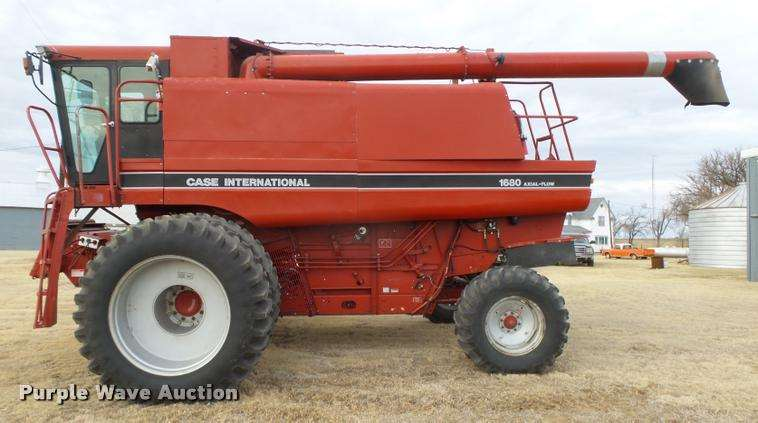 Case Ih 1680 : Case ih axial flow combine and head for sale