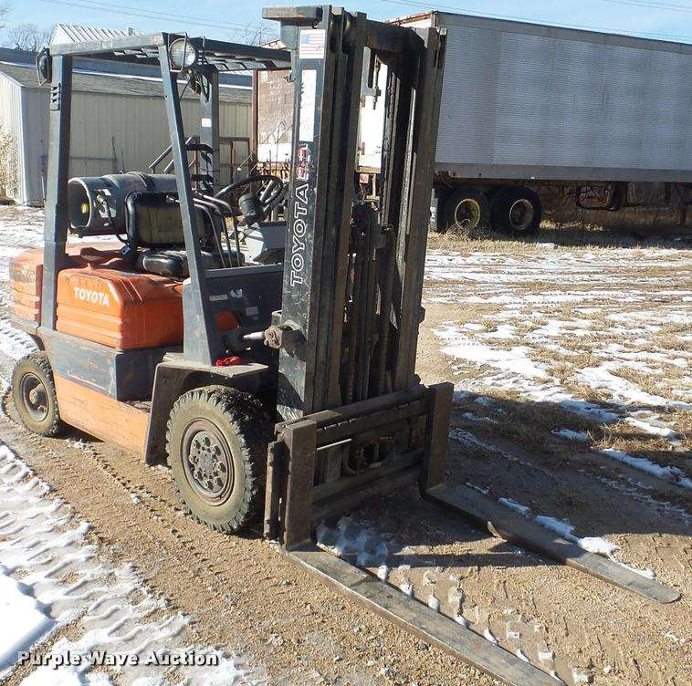 Toyota Forklift For Sale: Toyota 42-5FG25 Forklift For Sale, 6,291 Hours