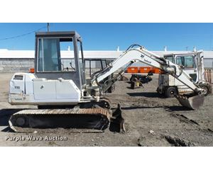 Bobcat 116 compact excavator