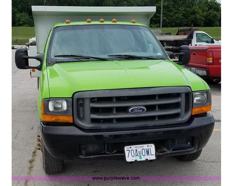 1999 ford f350 super duty dump bed pickup truck for sale manhattan ks. Black Bedroom Furniture Sets. Home Design Ideas