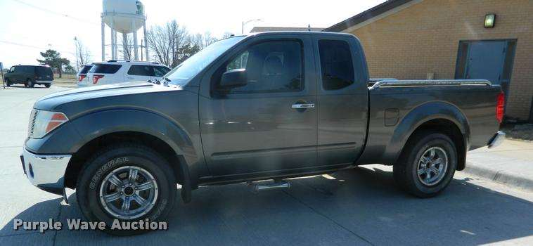 2007 nissan frontier king cab pickup truck for sale 69 791 miles beloit ks bk9277. Black Bedroom Furniture Sets. Home Design Ideas