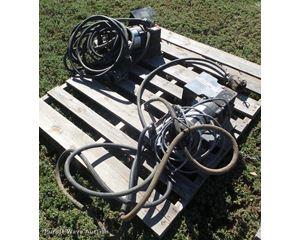 (2) John Blue electric water pumps