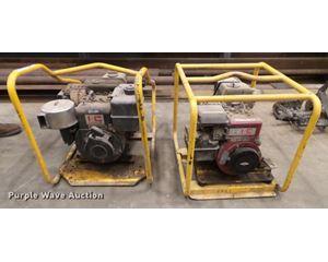 (3) Wacker trash pumps