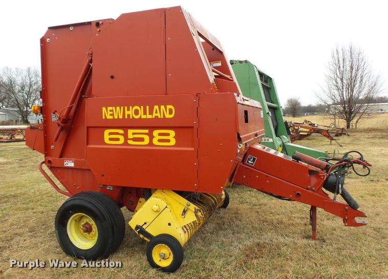 New holland 658 Baler manual
