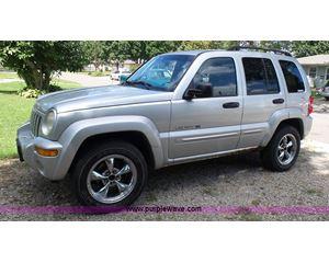 2003 Jeep Liberty Limited SUV