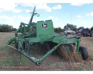(5) John Deere 9400 grain drills